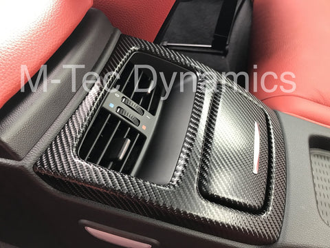 BMW E93 CONVERTIBLE 4D BLACK CARBON TRIM SET