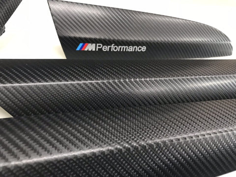 BMW X3 F25 4D BLACK CARBON FIBRE SET