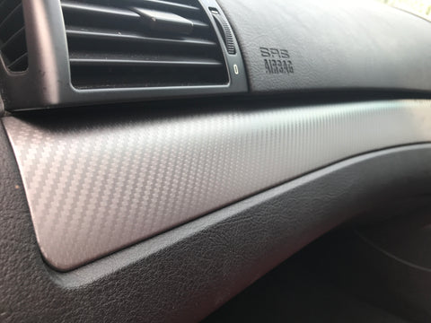 BMW E46 COUPE M3 GREY CARBON INTERIOR TRIM SET