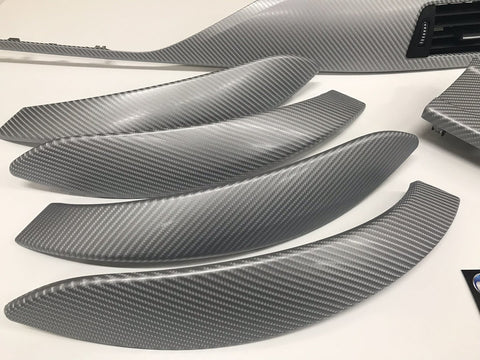 BMW F30 SE SILVER 4D CARBON INTERIOR TRIM SET