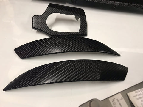 BMW Z4 E85 E86 4D BLACK CARBON FIBRE SET