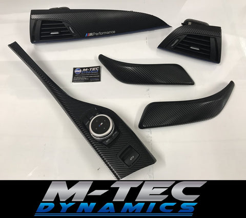 BMW F23 CONVERTIBLE 4D BLACK CARBON W/ BLUE TRIM
