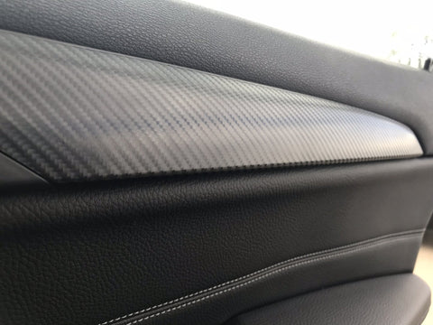 BMW X1 F48 4D BLACK CARBON FIBRE SET