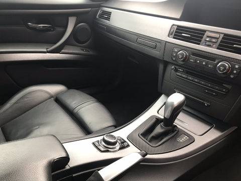 BMW E92 CIC GREY BRUSHED ALUMINIUM TRIM SET