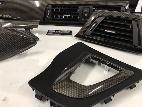 BMW F32 F82 TRIM SET SOTT ELEMENTO CARBON FIBRE