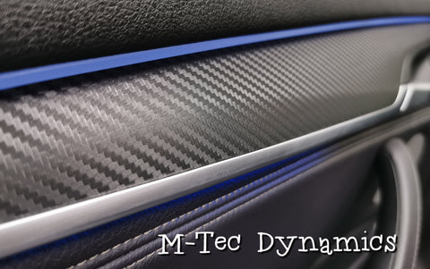 BMW X5 F15 INTERIOR TRIM SET WRAPPING SERVICE - 3D CARBON