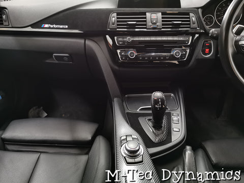 BMW F30 F80 M3 Custom Performance Style Trim Set (Black Accent)