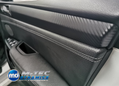 BMW X3 F25 / X4 F26 INTERIOR TRIM SET WRAPPING SERVICE - 4D CARBON