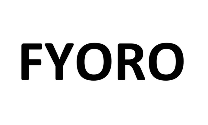 FYORO has a UK Trademark Registered