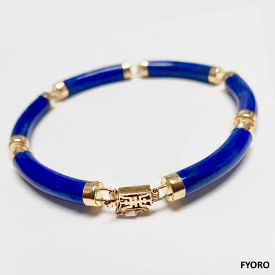 Laam Lapis Bracelet (with 14K Gold)