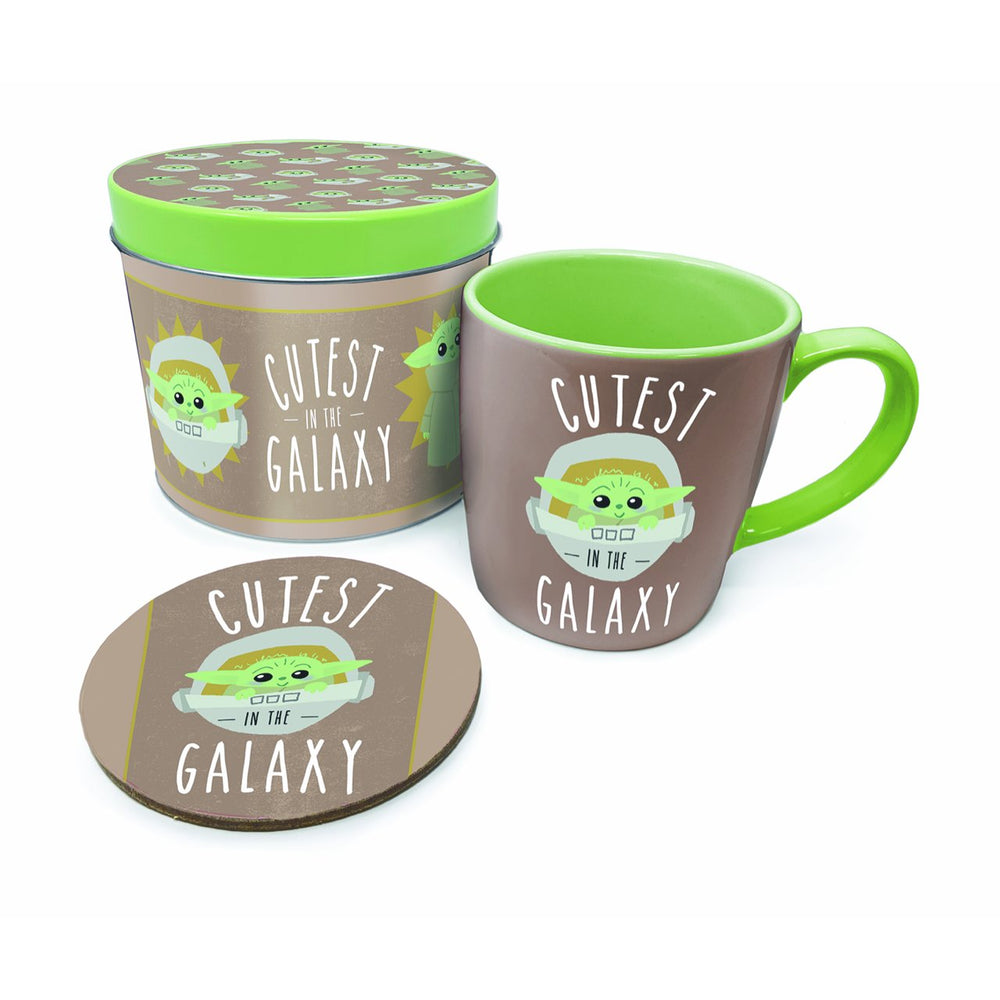 Baby Yoda (The Child) Cutest in the Galaxy Mug Set