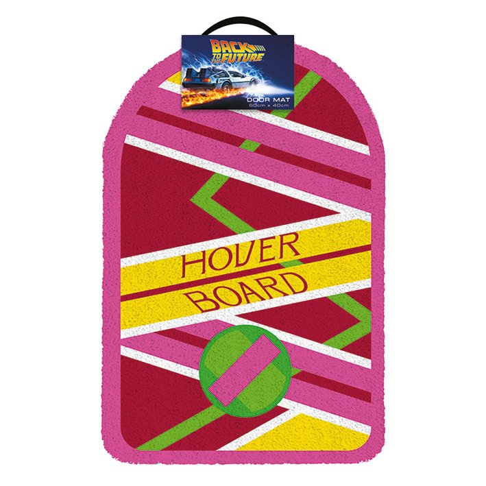 Back to the Future Marty Mcfly Hoverboard Doormat | Beth & Bunn