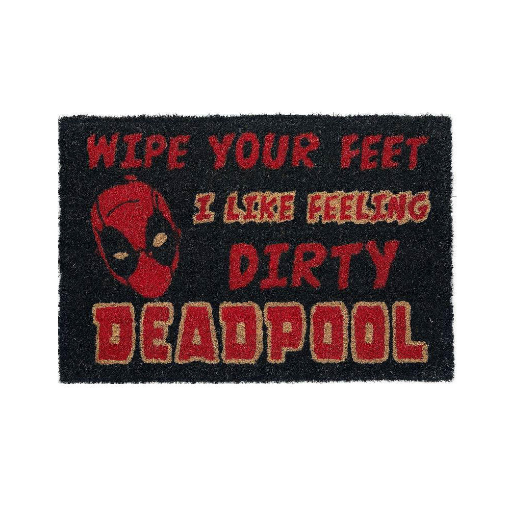 Deadpool I Like Feeling Dirty Doormat