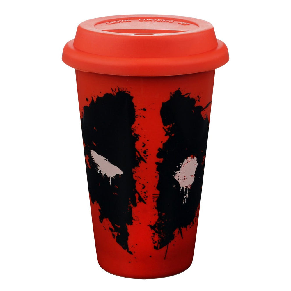 Deadpool Graffiti Splat Travel Mug
