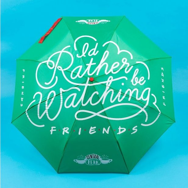 Official Friends Central Perk Umbrella | Friends TV Gifts | Beth & Bunn
