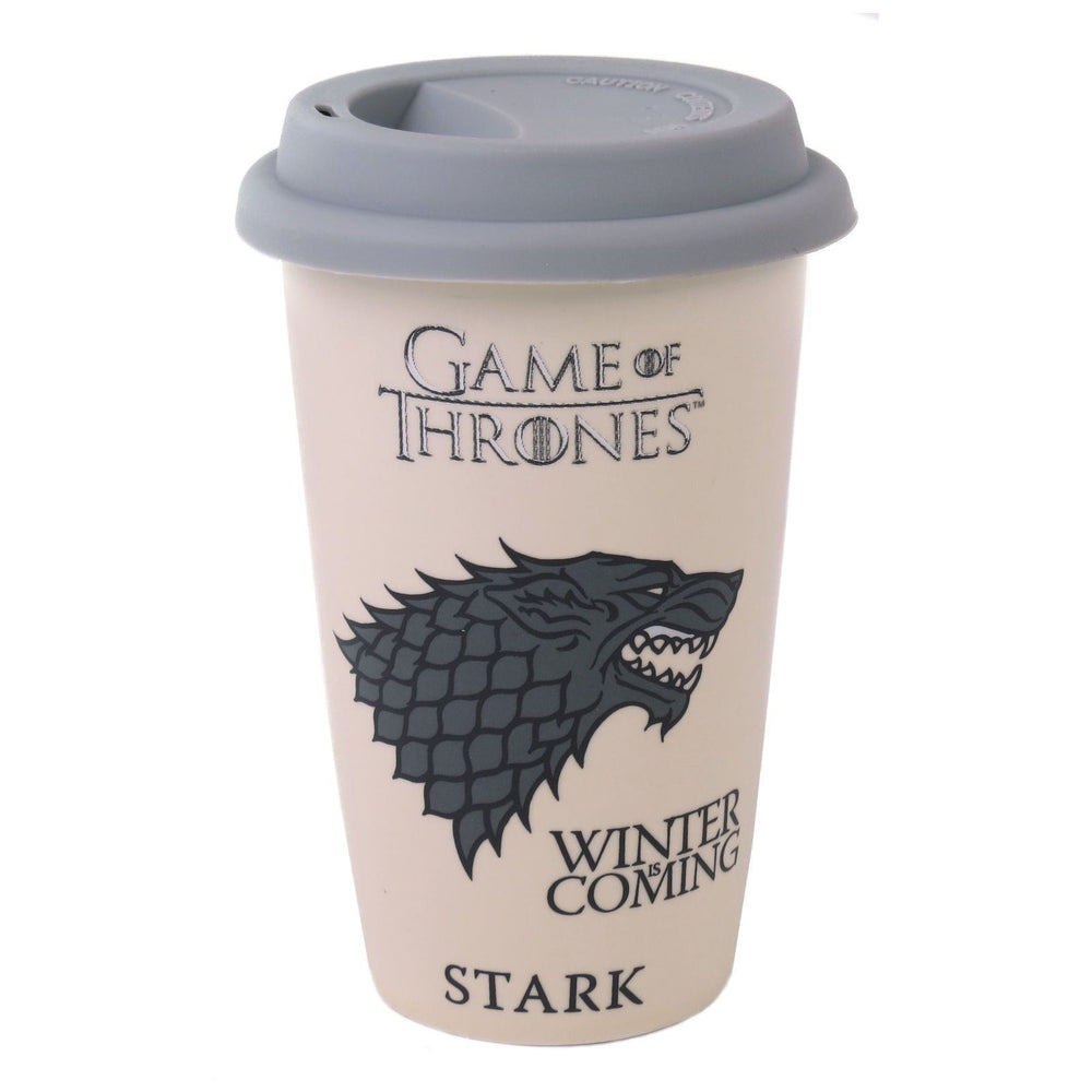Game of Thrones Stark Travel Mug | Game of Thrones Gift | Beth & Bunn