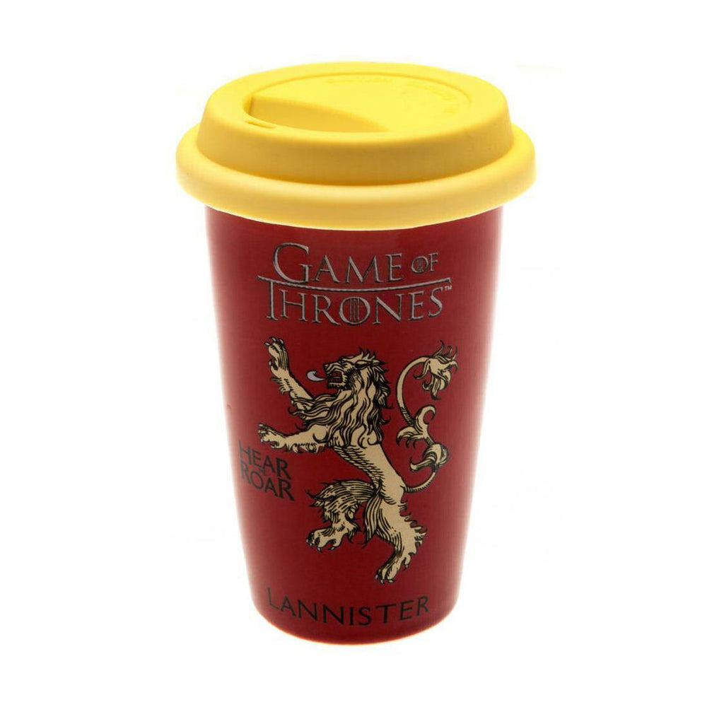 Game of Thrones House of Lannister Travel Mug