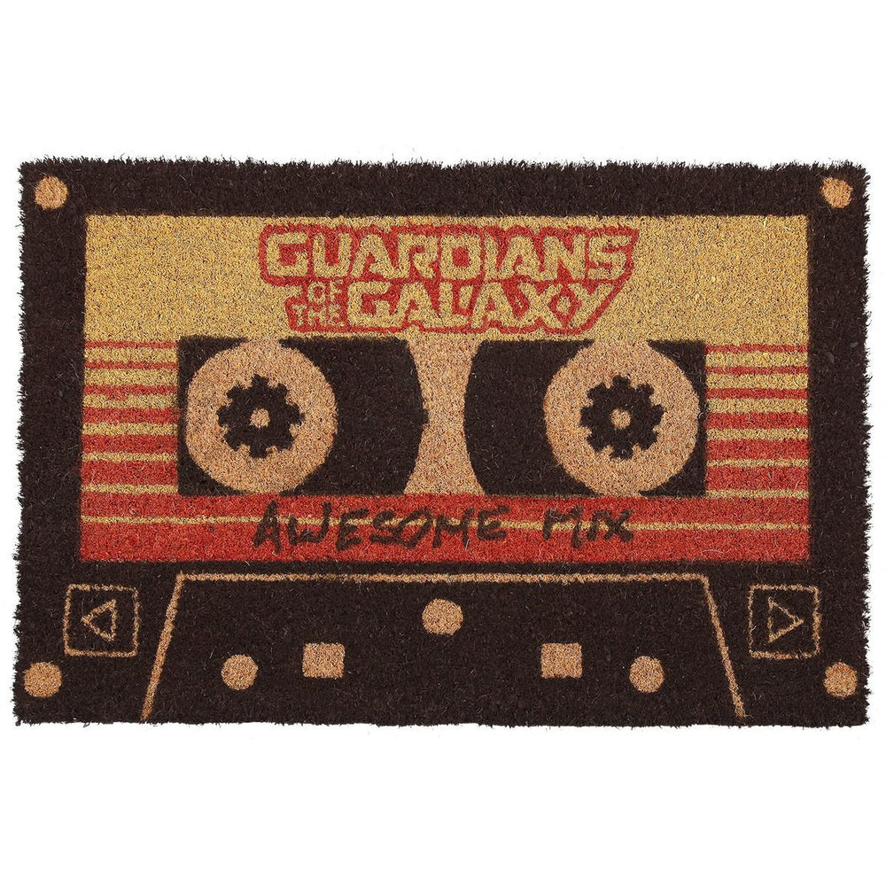 Guardians of the Galaxy Awesome Mix Tape Doormat