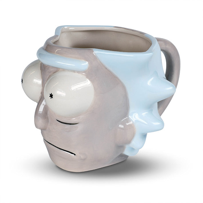 Rick & Morty Rick's Head 3D Mug | Rick & Morty Gifts | Beth & Bunn
