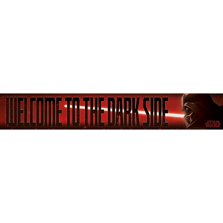 Star Wars Darth Vader Welcome to the Dark Side Sign