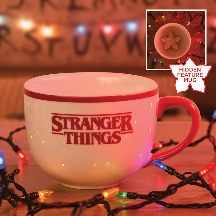 Stranger Things Hidden Demogorgon Mug