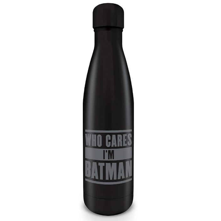 Who Cares I'm Batman Water Bottle