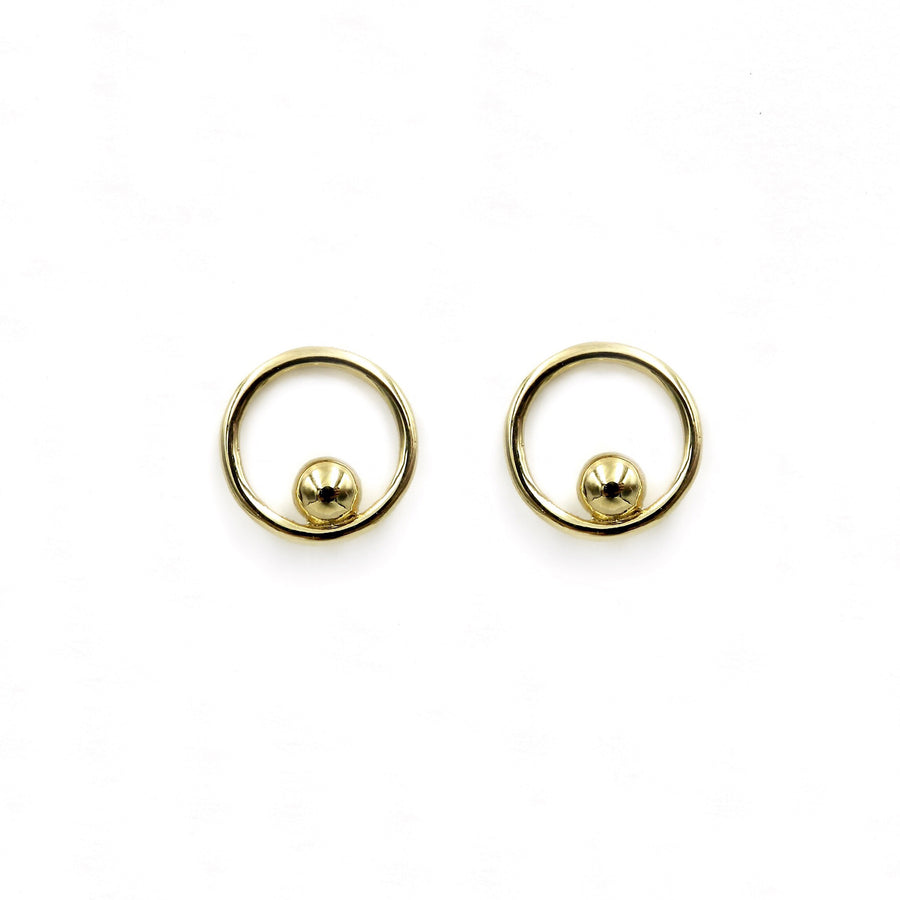 Breathless Yellow Gold Plated Earrings