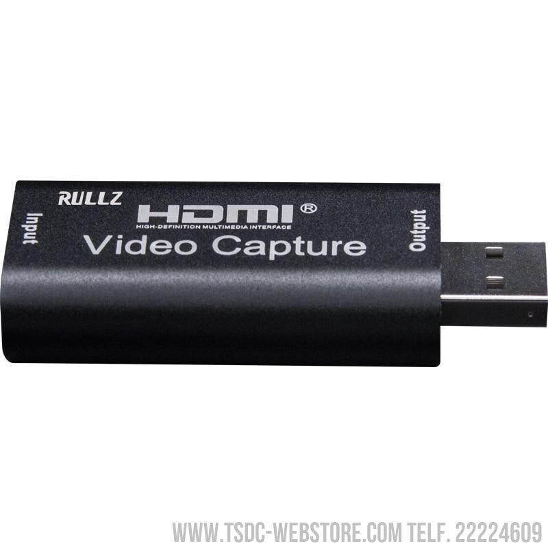 Capturadora de video Mini 4K 1080P HDMI a USB 2.0 para Grabación y Video en Vivo (Live Streaming Broadcast)-Capturadora de Video-TSDC Webstore