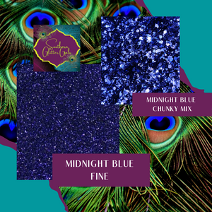 Midnight Blue Chunky Mix