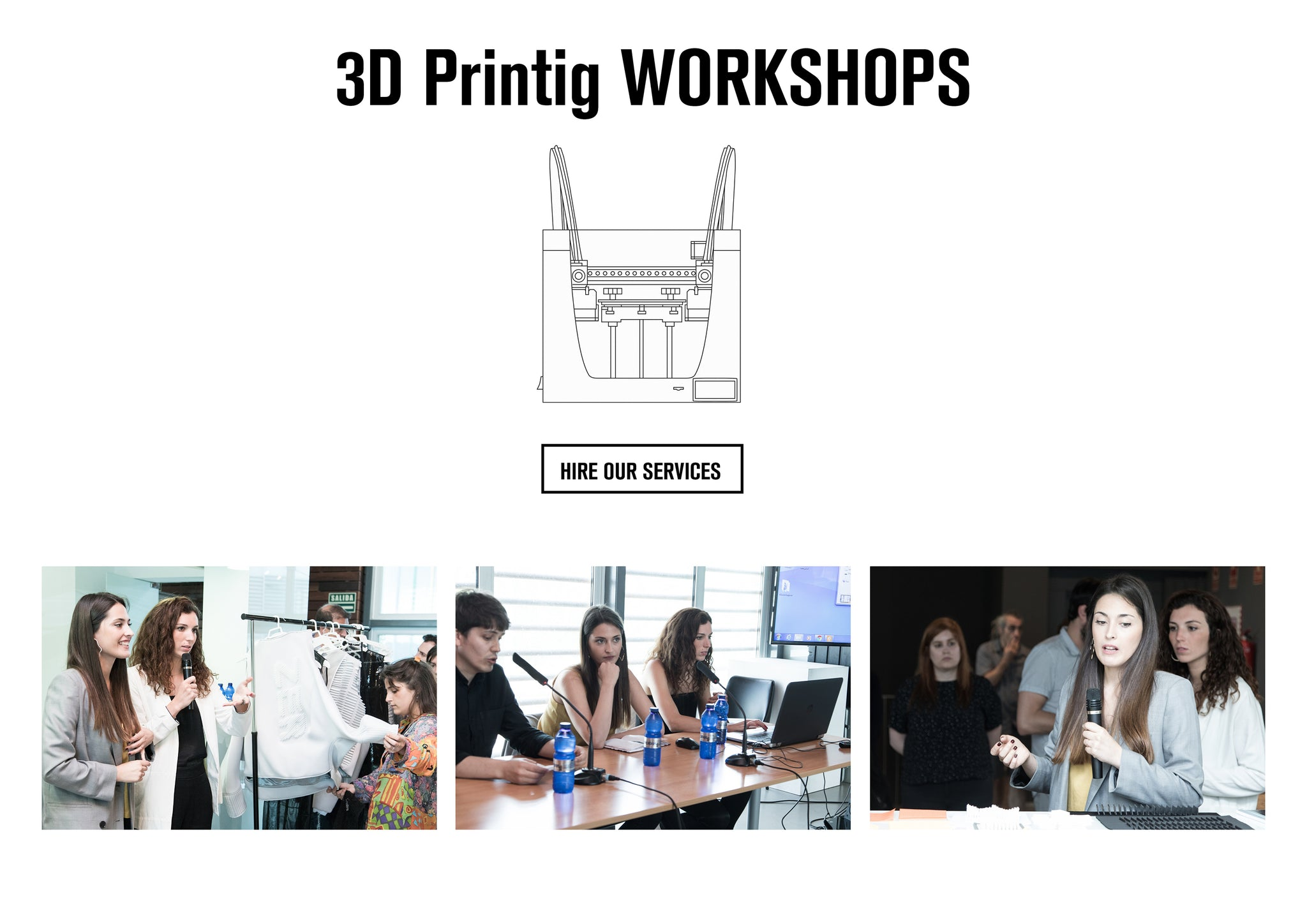3D printing Workshop ZER Collection, hire our service here. learn how to print fashion fabrics with the 3D printing. we will show our research and the innovation of our fabrics. We also use the embroidering machine