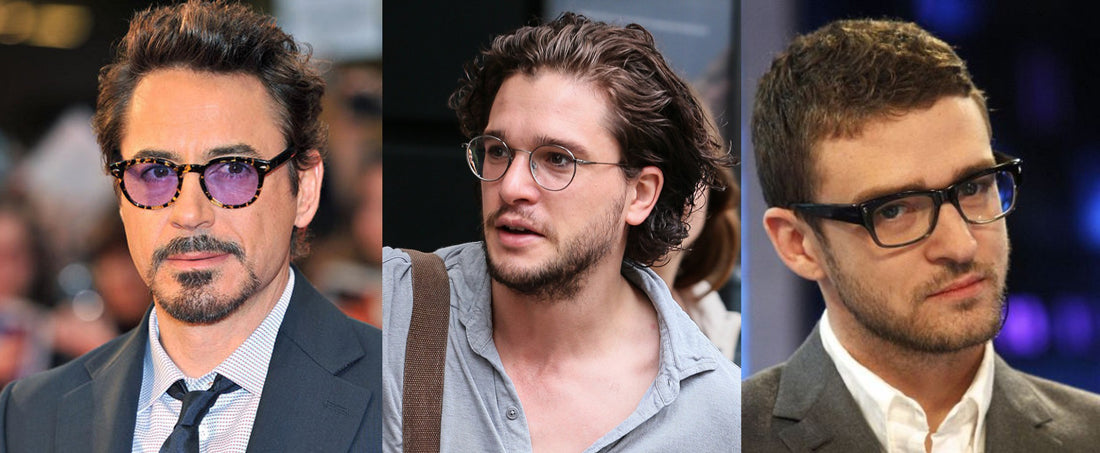 Hollywood top celebrities wearing glasses