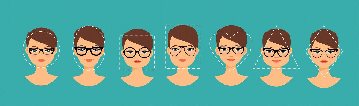 How to choose your eyeglasses to perfectly match your face