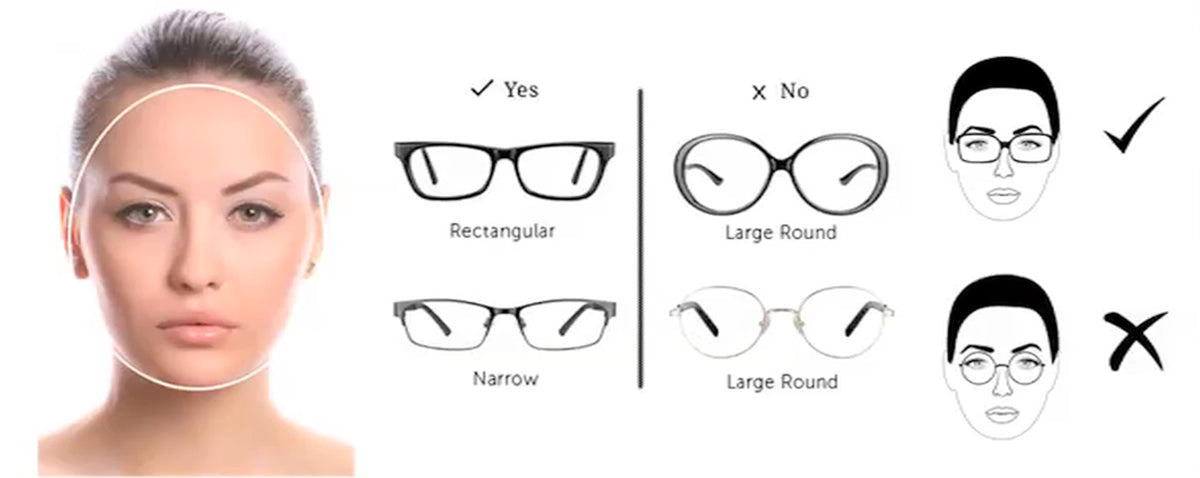 Jupitoo help you choose the frame to suit your face shape