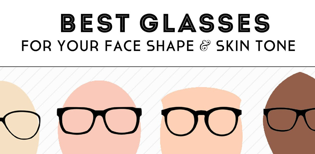 The Best Glasses for Your Skin Tone