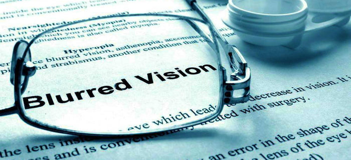 What's blurred vision and how to cure blurry vision