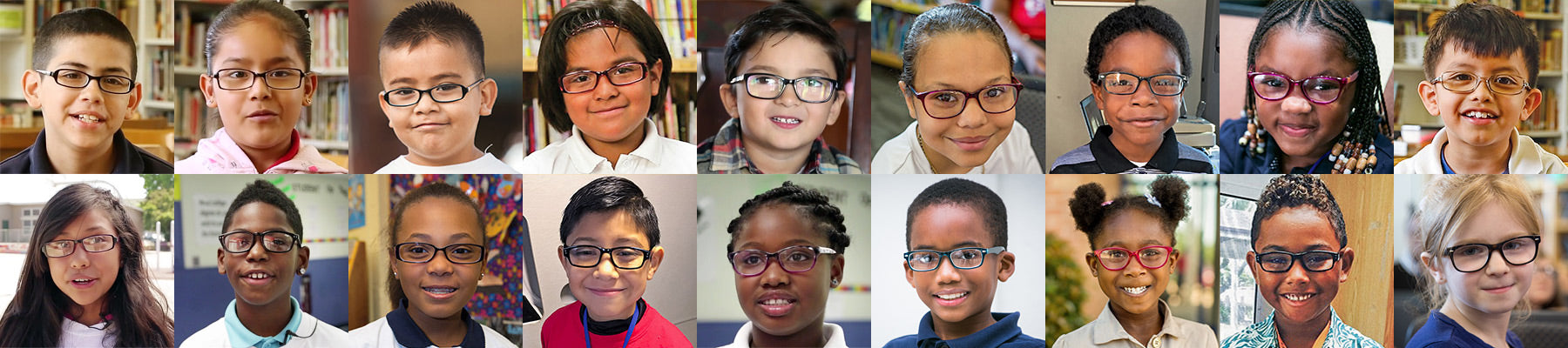 Jupitoo provided 1000 pairs of new glasses for needy children