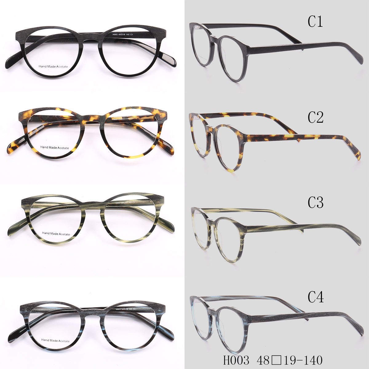 Cat-Eye Glasses H003