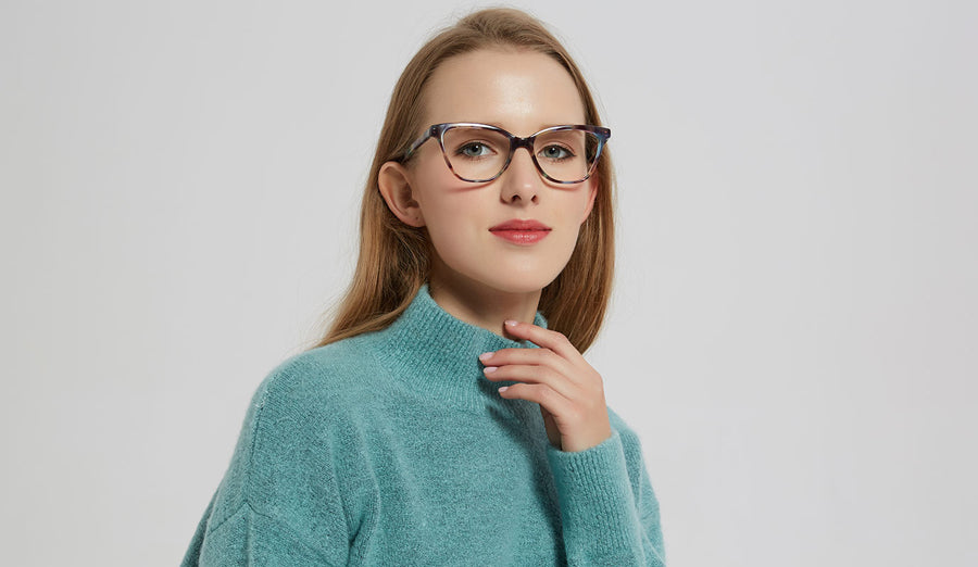 How To Choose the Right Cat-Eye Glasses for Your Face