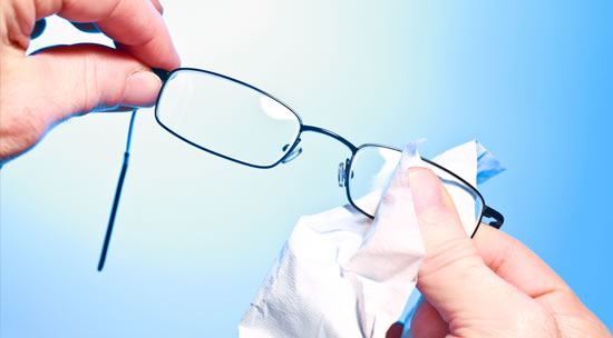 How to Safely Clean Your Glasses
