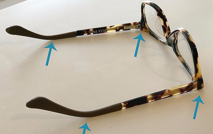 How to adjust your eyeglasses