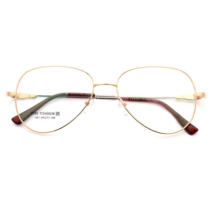 Oval Glasses 521