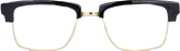 Retro Acetate Square Glasses TB806