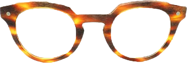 Retro Horn-rimmed Glasses K9119