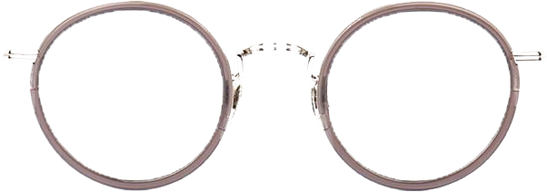 Retro Metal Round Glasses TB906