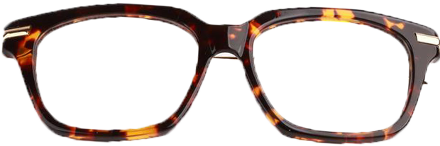 Retro Square Glasses TB701