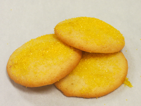Lemonade Cookies (Seasonal)