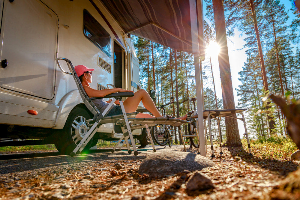 Sitting behind the wheel of your new RV comes with a lot of elation and anticipation