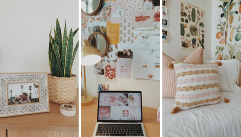 Looking for the best tips & tricks to keep your dorm room super organized? Here are 27 life-changing organization ideas you need to try out in your dorm room!!