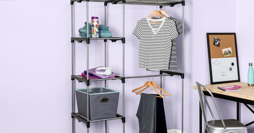Honey-Can-Do Double Rod Freestanding Closet Only $19.97 on NordstromRack.com (Regularly $159)