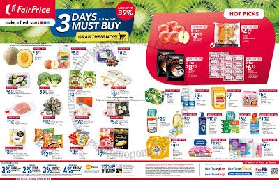 NTUC FairPrice 3 Days Must Buy Promotion 11 - 13 September 2020